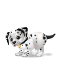 Banner Playful Dalmatian Puppy Boy