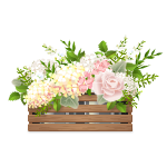 Rustic Shabby Chic Flowers 2