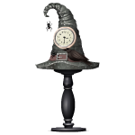 Witch Hat Clock