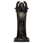 Broken Black Gothic Grandfather Clock