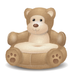 Overstuffed Bear Chair