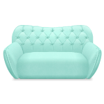 Mint Kawaii Sofa