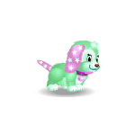 Banner Green Color Berry Puppy