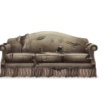 Ragged Sofa with Centipedes