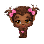 Banner Adorable Baby Girl Werewolf