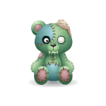 Patches Bear - Zombie Edition