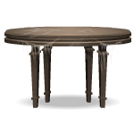 Old Wooden Table with Cobwebs
