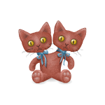 Two Head Cat Plushie