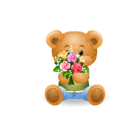 Mother's Day Boy Holiday Bear