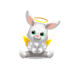 Heavenly Bunny Plushie