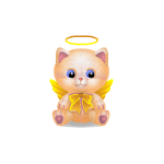 Heavenly Kitty Plushie