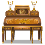 French Roll Top Desk