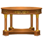 French Aristocrat Wood Table