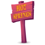Hot Springs Sign