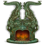 Dragons Fireplace