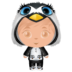 January Special Penguin Outfit