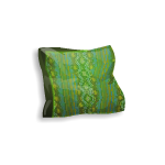 Medieval Green Cushion