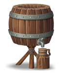 Animated Beverage Barrel
