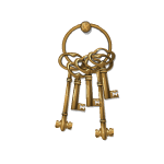 Pirate Captain's Keys