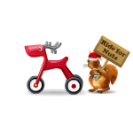 Animated Deer Cycle