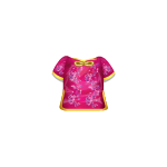 Chines Pink Doll Top