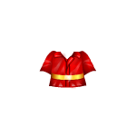 Red Doll Firefigher Jacket