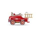 Animated Vintage Fire Truck