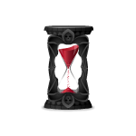 Animated Gothic Hourglass