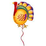 Turkey Balloon