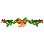 Christmas Garland with Bells
