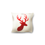 Deer Head Sofa Pillow
