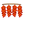 Animated Red Firecrackers