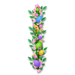 Vertical Flower Garland