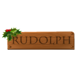 Rudolph Sign