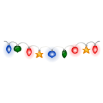 Colorful Lights Garland