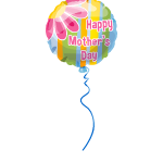 Mother's Day Striped Balloon