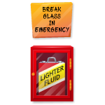 Emergency Case Stand