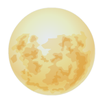 Full Moon Decal