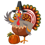 Pilgrim Turkey Decal