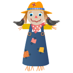 Scarecrow Girl Decal