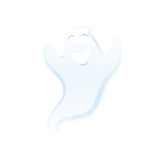 Friendly Ghost Decal 2