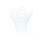 Friendly Ghost Decal 1