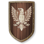 Medieval Eagle Coat of Arms Shield