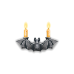 Bat Gargoyle Candle Holder
