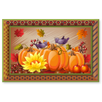 Harvest Pumpkins Wall Art