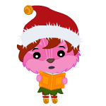 Animated Singing Caroler