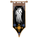 Royal White Horse Banner