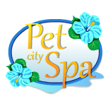 Pet City Spa Sign