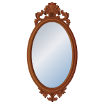 Rivenville Wooden Mirror