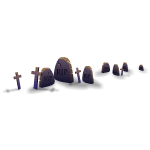 Graveyard Crosses 2